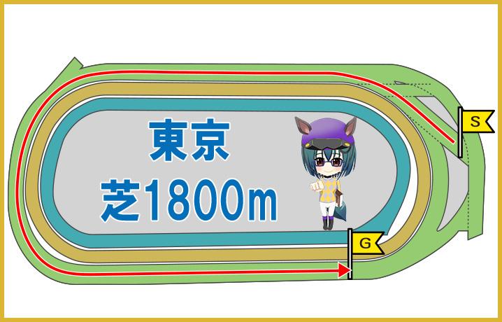 東京芝1800mの特徴