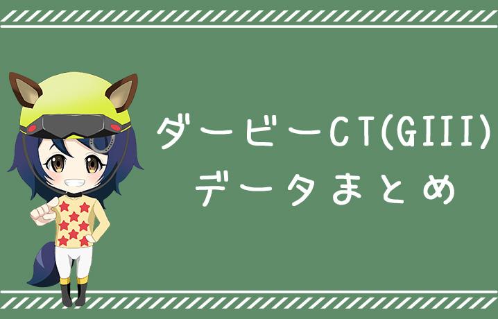 (データ分析)ダービー卿チャレンジトロフィー(GIII)データまとめ