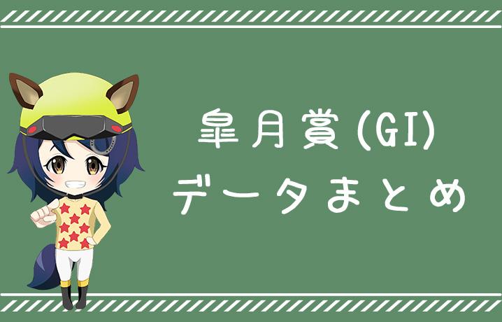 (データ分析)皐月賞(GI)データまとめ