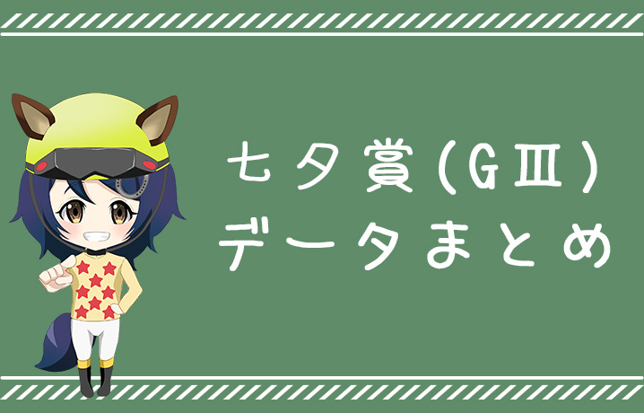 七夕賞データまとめ